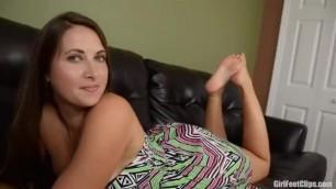 Madison Lee Feet Tease