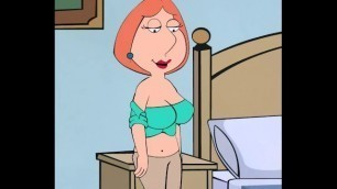 Lois Griffin Breast/belly Expansion