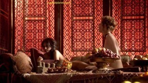 Esme Bianco and Sahara Knite Hot Lesbian Sex in Game of Thrones Series