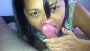 Lovely cheating filipina - loves to suck kano cock