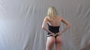 Justine Spanked - maledom